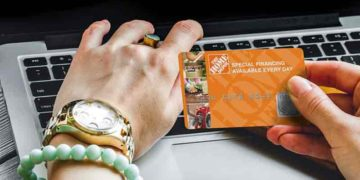 home depot credit card application